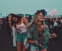 3 days left till #coachella @charlottedalessio & @josiecanseco by bryant