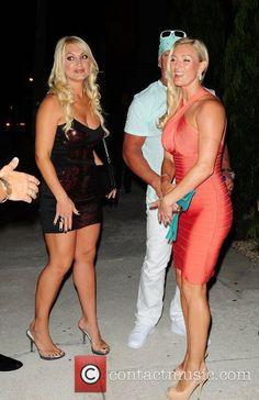 Brooke Hogan (l) & Jennifer McDaniel (r)