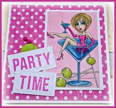 Flashback Friday with Sassy Studio Designs - Party Time!