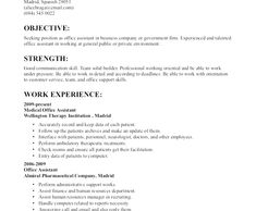 Resume Template For Administrative Position Free Resume Templates Pages Mac  Free Resume Templates  Pinterest .