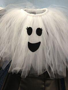 Ghost PreOrder Tutu Dress Costume Halloween by allisonmcnally, $32.00
