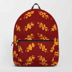 Buy Geometric Golden Autumn Leaves on Deep Red Backpack by denidesigns. Worldwide shipping available at Society6.com. Just one of millions of high quality products available. Red Backpack, Fashion Backpack, Backpacks For Sale, D Craft, Designer Backpacks, Autumn Leaves, Deep, Unisex, Bags