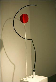 Half Circle, Quarter Circle And Sphere by Alexander Calder 1932
