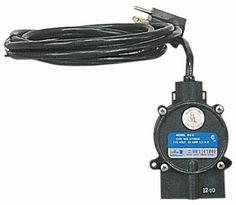 """Little Giant 599008 115 Volt RS-5 Piggyback Diaphragm Switch by Little Giant. $38.00. From the Manufacturer                Piggyback Diaphragm Switch                                    Product Description                Little Giant RS-5, 115V - Piggyback Diaphragm Switch, 10' Power Cord (599008)Converts any manual pump, up through 1/2 HP (10 max. run amps), to automatic. When mounted to 5-MSP or 6-CIM-R pump, """"on"""" level range is 6"""" - 9"""" (15.2cm - 22.8cm), """"off"""" level rang..."""