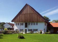 Fassade gartenseitig nach Sanierung : Landhäuser von heidenreich architektur