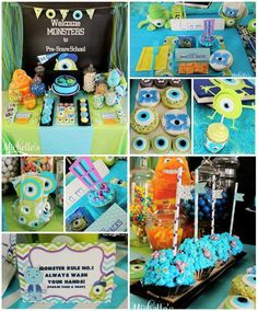 Monsters inc party