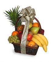 FESTIVE FRUIT BASKET Gift Basket Shown at $60