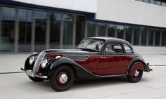 1937 BMW 327 Sports Coupe.