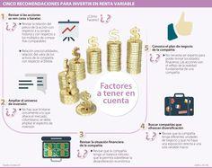 Las cinco recomendaciones para invertir en renta variable