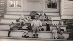 Little boy and all his favorite things! :)