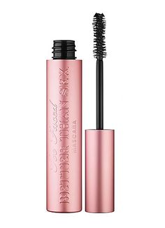 Too Faced: Better Than Sex Mascara - Great Mascara takes lashes from normal to va-voom in one go.