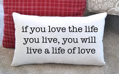 Canvas Pillow Inspirational Quote  Home by JoaniesFavoriteThing $34   https://www.etsy.com/listing/237973038/canvas-pillow-inspirational-quote-home?ref=shop_home_active_4
