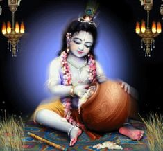 """Wishing All Friends and Visitors of this Blog A Very Very Happy Gokulashtami !! 2014 Shri Krishna said: """"I am the Supersoul, O Arjuna, seated in the hearts of all living entities. I am the be…"""