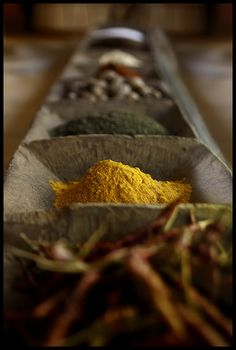 Nothing better than fresh colourful spices