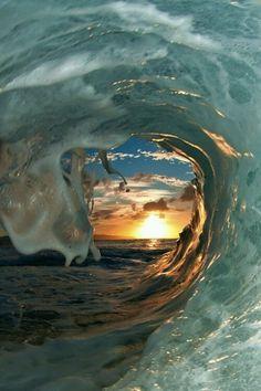 Silencio que acaba en cada ola que empieza. Drinakaos.