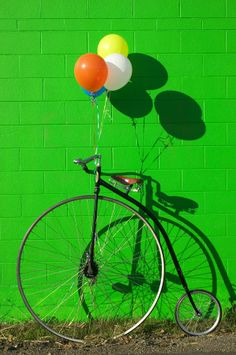 Penny Farthing Bike by Garry Gay, via fineartamerica.com