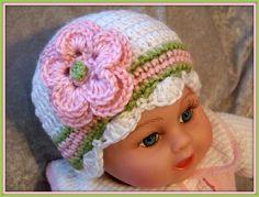 Crochet Baby Hat ~ Crochet Hats by Joyce @ Etsy