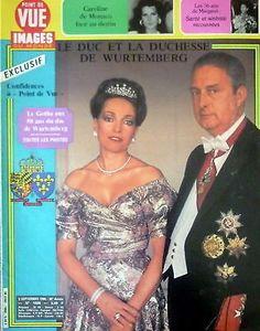 POINT DE VUE 1988 09/05/1986 Duc Duchesse Wurtemberg fr.picclick.com