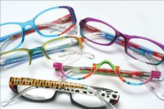 6275bf6606 Ronit Furst offers hand-painted designs on original frames. Combine that  with your own unique style and bring color ...