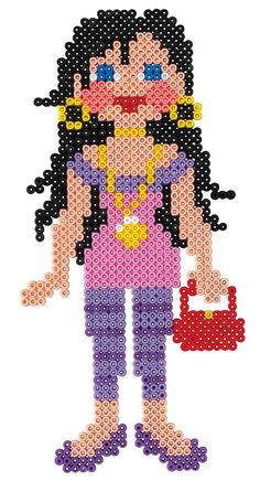 Fashion Girl hama beads