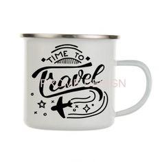 HRNEK PLECHÁČEK - Time to travel Mugs, Studio, Tableware, Travel, Design, Dinnerware, Viajes, Tumblers, Tablewares