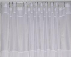 Custom shower curtain.