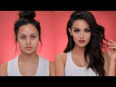 My Go To Daytime Glam Makeup Tutorial - YouTube