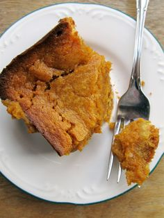 Mary Quite Contrary Bakes: Gooey Pumpkin Butter Cake