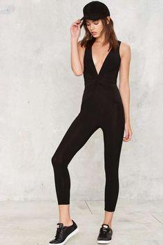 e69f1a6c3a Sierra Twist Plunging Jumpsuit - Clothes