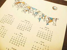 Geometric calendar $5