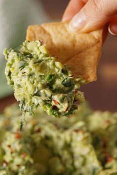 We found the best ever spinach dips for every party you host. From the classic spinach and artichoke dip to a hot spinach dip with feta, these easy recipes will make everyone wanting more. Avocado Recipes, Fruit Recipes, Dip Recipes, Recipies, Avocado Dishes, Avocado Dip, Party Recipes, Potato Recipes, Vegetable Recipes