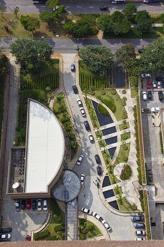 GILBERTO ELKIS/ São Paulo- Brazil Edifício West Side- Alphaville- SP #landarch #urbandesign