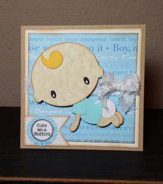Handmade New Baby Card http://www.krystlescraftyniche.blogspot.com