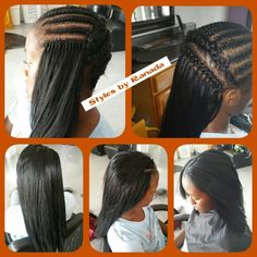 Hairstyles For Women Over 40 That Look Great – HerHairdos Crochet Braids Straight Hair, Straight Hair With Braid, Curly Crochet Hair Styles, Crochet Braids Hairstyles, Braids For Black Hair, Twist Hairstyles, African Hairstyles, Straight Hairstyles, Curly Hair Styles