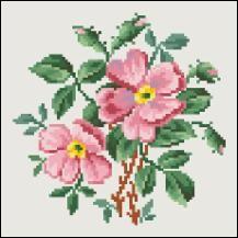 Patterns 6 - Victorian Cross Stitch and Berlin Wool Work Patterns