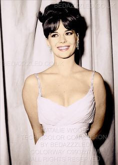 NATALIE WOOD TECHNICOLOR CONVERSION BY BEDAZZZLED PREVIOUSLY B/W