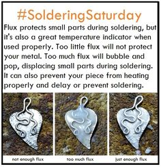 Goldilocks knows too much is too much, too little is too little. Learn to use just the right amount of flux for soldering with this #SolderingSaturday tip.
