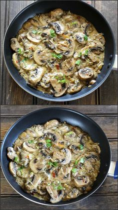 Mushroom In Garlic Cream Sauce is a easy to make, creamy, flavorful and extra delicious recipe ready in less than 25 minutes.