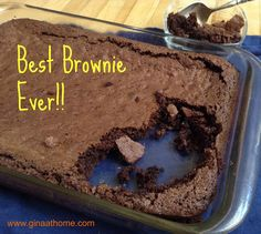 Easy homemade brownies from scratch