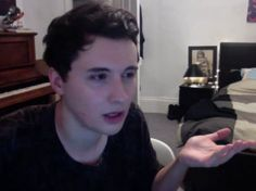 DANIEL. WHAT IS THAT HAIR.