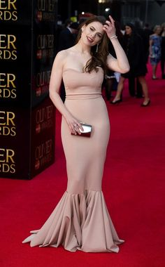 Hayley Atwell Photos - The Olivier Awards 2012 - Zimbio Celebrity List, Celebrity Dresses, Celebrity Crush, Celebrity Style, Haley Atwell, Agent Carter, Tights Outfit, Celebs, Celebrities