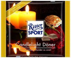 RITTER SPORT Fake Schokolade Candlelight Döner