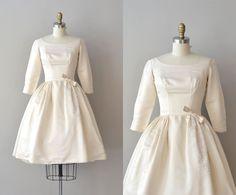 1950s Wedding Dress Silk 50s Bond Of Love 33500 Via