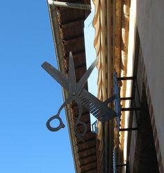 Beaumont de Lomagne enseigne coiffeur 8125 | Flickr: Intercambio de fotos