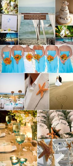 "Beach ideas...Like a ""couple"" of these ideas for a destination wedding?"