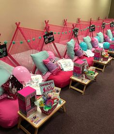 LOL Surprise Dolls Sleepover Birthday Party! How fun is this?