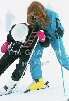 Fergie catching Diana