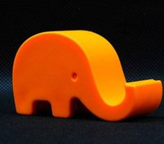 HuntGold Super Cute Mini Elephant Cellphone Holder Stand for iPhone 5G 5S 4S Galaxy Note 2 3(Orange) HuntGold http://www.amazon.com/dp/B00HC6WNNM/ref=cm_sw_r_pi_dp_W3aHub1Z55SJ2