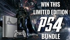 #Gamers! Enter for a chance to #win a #LE #ArkhamPS4! http://j.mp/caseywursterps4 #playstation #ps #ps4 #playstation4 #consolewars #notxbox #sony