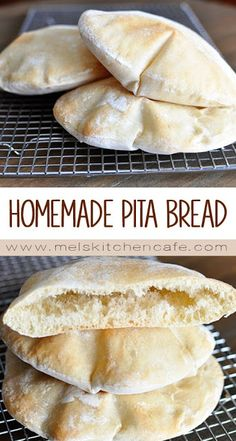 Pita bread is surprisingly super easy to make at home; in this post, you'll get all the tips and tricks to make the pita breads puff perfectly! I think the puffing aspect of pita bread Homemade Pita Bread, Pita Bread Recipes, Vegan Pita Bread Recipe, Homemade Recipe, Gluten Free Pita Bread, Pita Flatbread Recipe, Homemade Tortillas, Healthy Pita Bread, Keto Bread